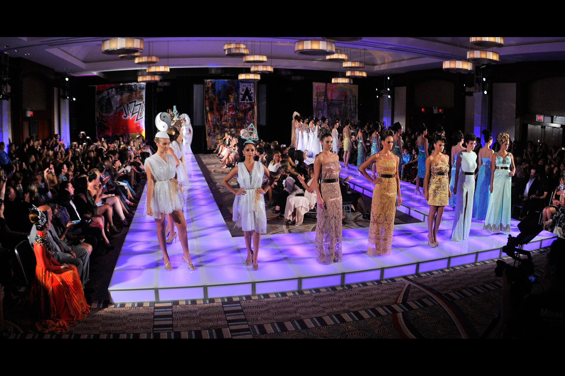 Andres Aquino fashion shows