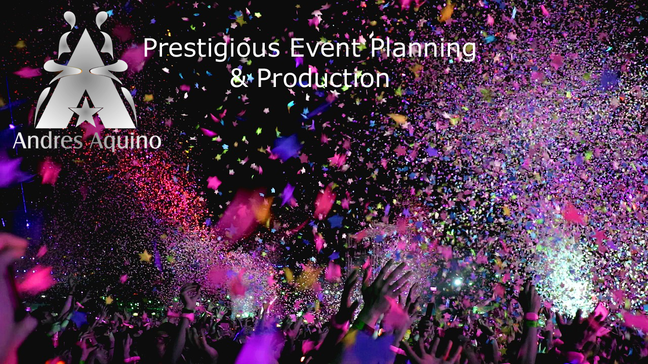 Andres Aquino event planning and production