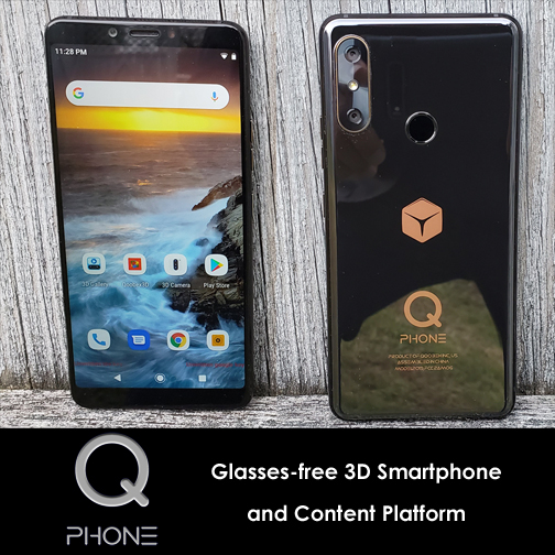 QPhone 3D Smartphone